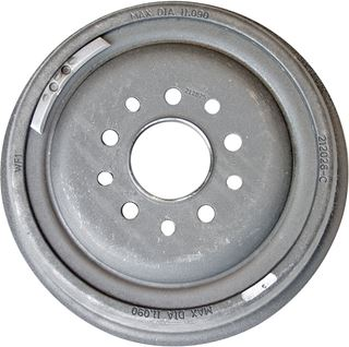 """Picture of CE-6003AD - 11"""" Brake Drum - Dual Drilled (ABCS)"""