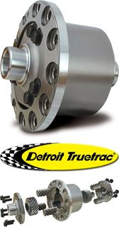 Picture of 60-TTHI35F - Currie & Dana 60 4.30 & Down Detroit TrueTrac - 35 Spline - Front