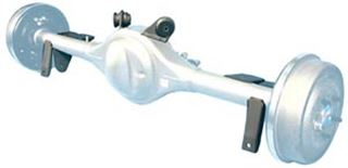 Picture of CE-7011A - '64-'72 GM A-Body Suspension Brackets Mounted
