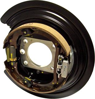 Picture of JK-6035M - JK Backing Plate For Currie Full-Float Axles