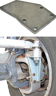 Picture of 60-2005SB - Steel Steering Component Bracket for Aluminum 1 Ton Outer Knuckles