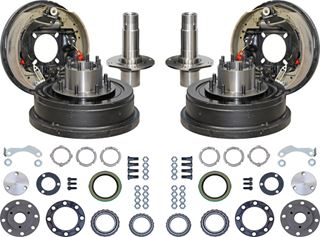 "Picture of CE-6005FF8L - 12"" Drum Brake & 1 Ton Floating Axle Kit"