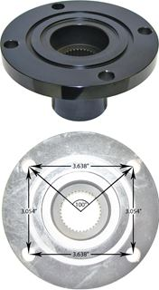 "Picture of CE-4044FBP - Companion Flange Yoke for 9"" & Currie 70 (35 Spline)"