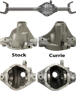 Picture of 44-2007CR1 - Currie High Pinion 44 Housing for JK Rubicon w/ JK Knuckles