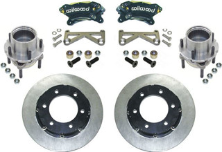 "Picture of CE-0005SDR1 - Unit Bearing Floater Outer Assemblies - Complete - 12.19"" Wilwood Brakes - 5 on 5 1/2"" Pattern w/ 1/2"" Studs"