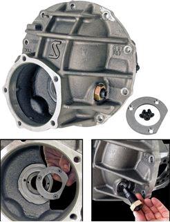 "Picture of CE-4028D - 9""/10"" Strange/Gearworks Nodular Gear Case (3.250"" Bearing w/ Load Bolt)"