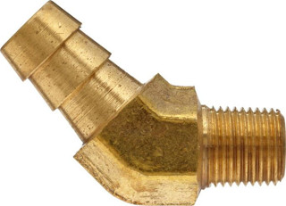 "Picture of CE-9028N3 - Housing Vent - 45 Degree Nipple Style (1/8"" Pipe Thread, 1/4"" Hose)"