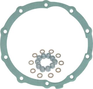 "Picture of CE-9007B - 9"" 3rd. Member Gasket (Rubber Coated Metal) w/ Nuts & Washers"