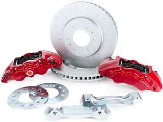 "Picture of CE-BKF1559BE11 - 13.66"" Alcon Raptor/F-150 Front Brake Kit"