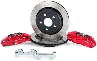 "Picture of CE-BKR5059D12 - 13"" Alcon Jeep JK Wrangler Rear Brake Kit"