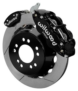 "Picture of CE-6014-14262 - Wilwood Disc Brake Kit w/ E-Brake - 12.88"" Slotted Rotors & Black Calipers (for Currie Floater)"