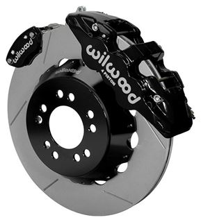 "Picture of CE-6014-14263 - Wilwood Disc Brake Kit w/ E-Brake - 14"" Slotted Rotors & Black Calipers (for Currie Floater)"