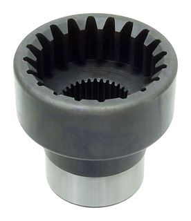"Picture of CE-4044EB - Drag Race Coupler Yoke - 9"" (35 Spline)"