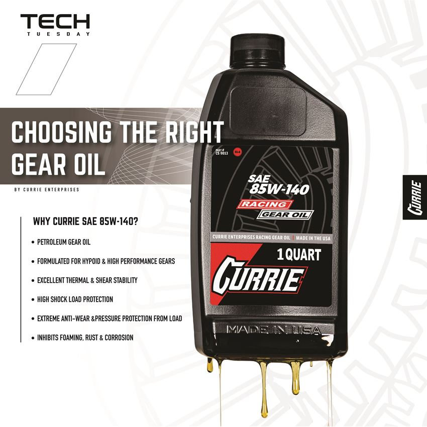 Why Run Conventional Gear Oil?