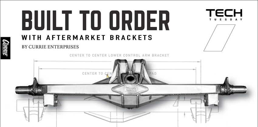 Got Custom Brackets?
