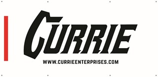 Currie White Banner