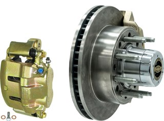 8-Lug brake Kit For Currie 1-Ton Frontends