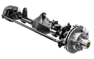 Currie F9 -  9-Inch Front Axle Assembly