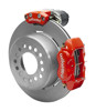 Wilwood Dynalite 12-Inch Rear Disc Brake With Electronic Parking Brake - Plain Rotor & Red Caliper