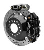 Wilwood Dynalite 13-Inch Rear Disc Brake With Electronic Parking Brake - Drilled & Slotted Rotor, Black Caliper