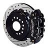 Wilwood 13-Inch Disc Brakes, Drilled & Slotted, Superlite Caliper Black