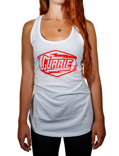 Currie Electric Womens Tank Top - White