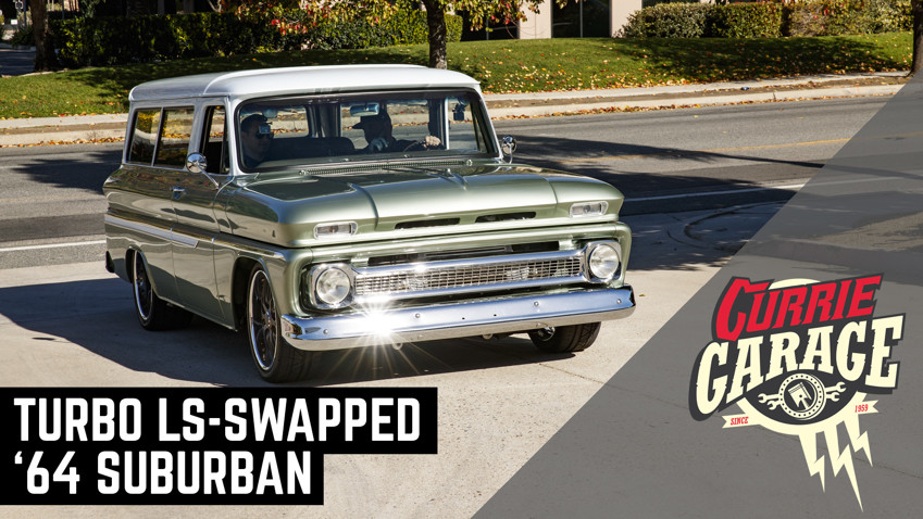 Not Your Mom's Grocery Getter - '64 Chevy Suburban | Currie Garage | Episode 8