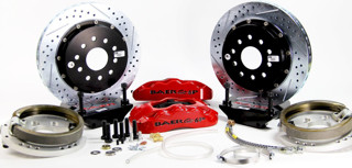 Picture of Baer 14-inch Pro+ Brake Package W/ Parking Brake (Currie Floater)