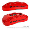Red Caliper With Black Logo