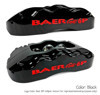 Black Caliper With Red Logo