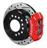 Wilwood Dynapro 11-Inch with red calipers