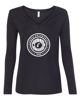 """Picture of Currie """"Carbon"""" Womens Long Sleeve V Neck"""