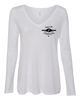"""Picture of Currie """"Alloy"""" Womens Long Sleeve V Neck"""