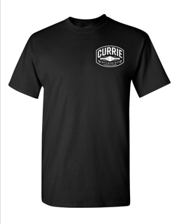 """Picture of Currie """"Brigade"""" Tee - Black"""