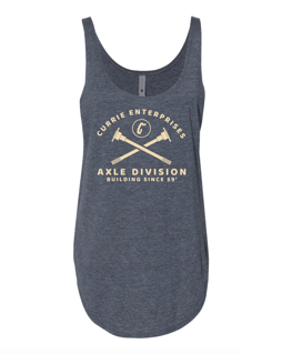 """Picture of Currie """"Axle Division"""" Womens Tank Top"""