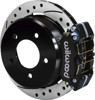 Wilwood 11-Inch Disc Brakes, Drilled & Slotted, Dynapro Caliper Black